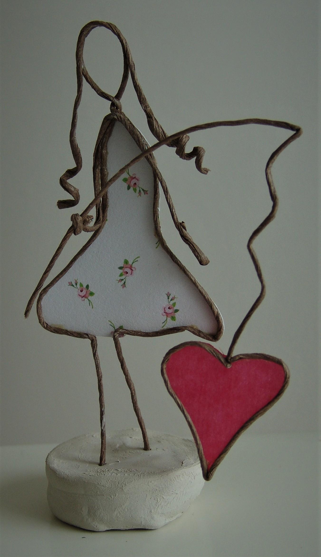 Jeune fille au coeur Image