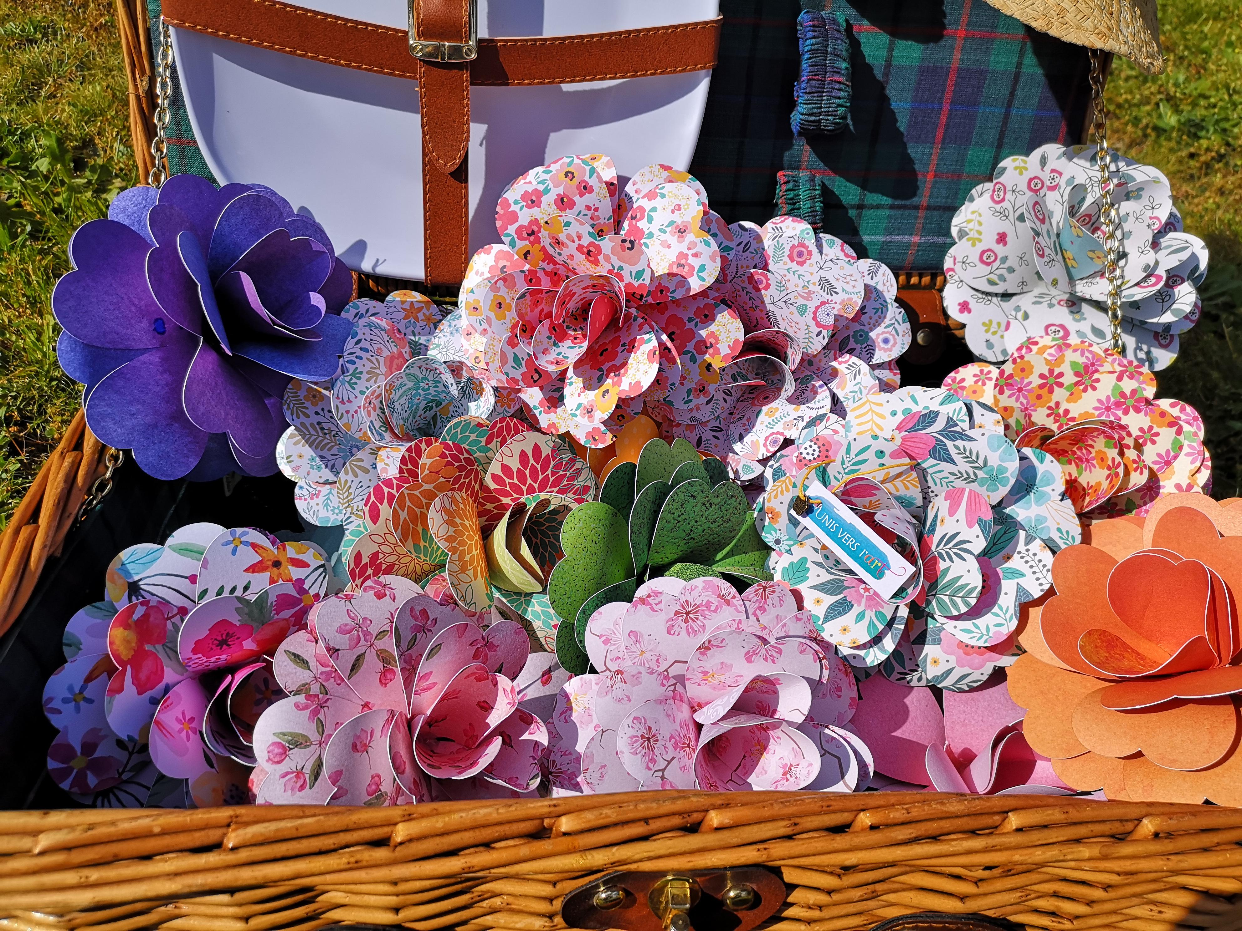 Fleurs papier Image